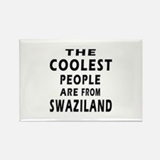 The Coolest Swaziland Designs Rectangle Magnet