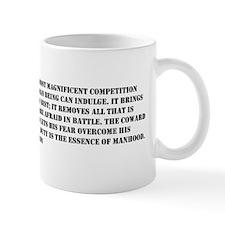 Patton Quote - Battle Mug