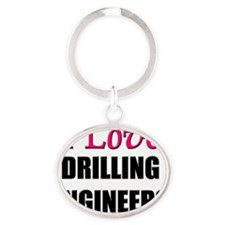 DRILLING-ENGINEERS141 Oval Keychain