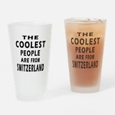 The Coolest Switzerland Designs Drinking Glass
