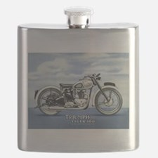 1948 Triumph Tiger 100 Flask