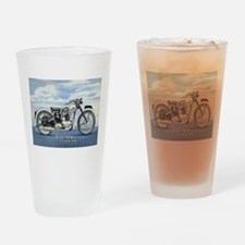 1948 Triumph Tiger 100 Drinking Glass