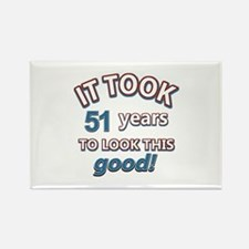 51st year designs Rectangle Magnet