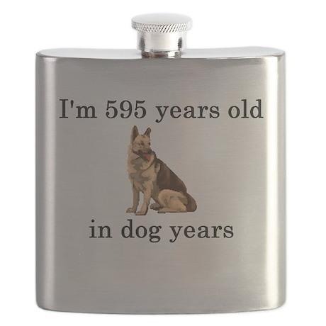 85 dog years german shepherd Flask