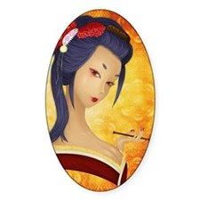 Geisha & porte-cigarette Decal