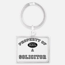 Solicitor74 Landscape Keychain