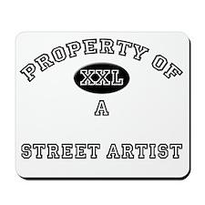 3-Street-Artist142 Mousepad