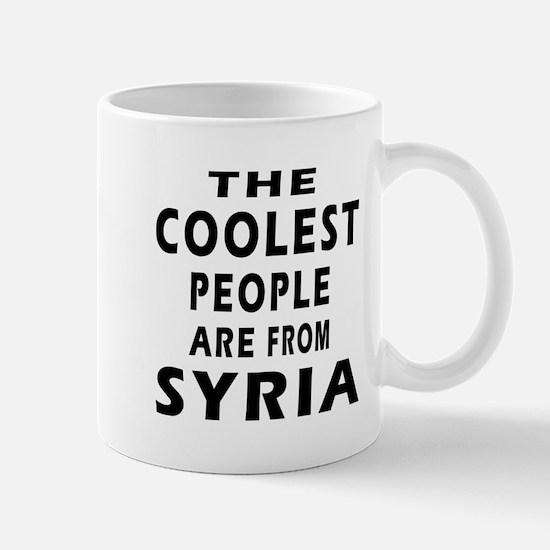 The Coolest Syria Designs Mug