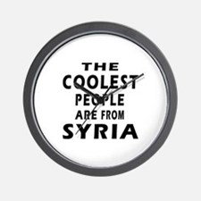 The Coolest Syria Designs Wall Clock