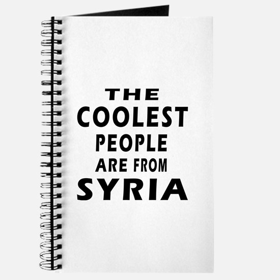 The Coolest Syria Designs Journal
