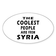 The Coolest Syria Designs Decal