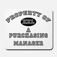Purchasing-Manager45 Mousepad