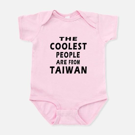 The Coolest Taiwan Designs Infant Bodysuit