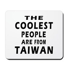 The Coolest Taiwan Designs Mousepad
