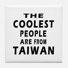 The Coolest Taiwan Designs Tile Coaster