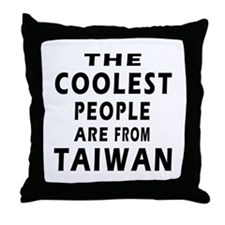 The Coolest Taiwan Designs Throw Pillow
