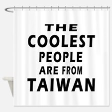 The Coolest Taiwan Designs Shower Curtain