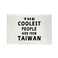 The Coolest Taiwan Designs Rectangle Magnet