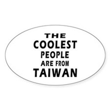 The Coolest Taiwan Designs Decal