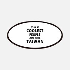 The Coolest Taiwan Designs Patches