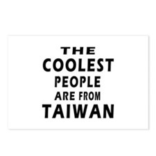 The Coolest Taiwan Designs Postcards (Package of 8