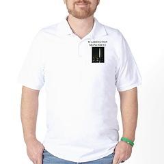washington monument Golf Shirt