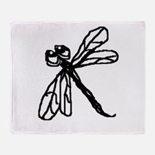 Dragonfly Ditz Throw Blanket
