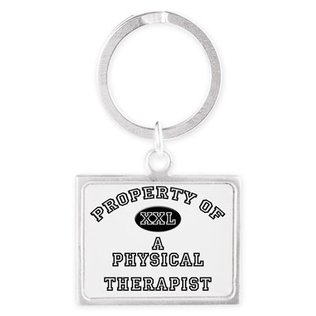 Physical-Therapist11 Landscape Keychain