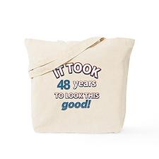 48 year old designs Tote Bag