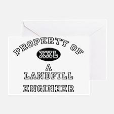 Landfill-Engineer20 Greeting Card