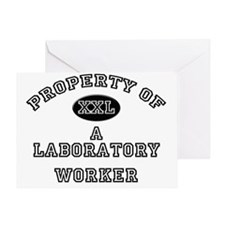 Laboratory-Worker43 Greeting Card