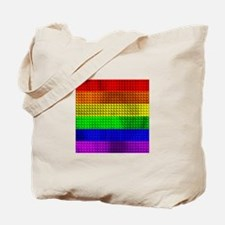 RAINBOW-METALIC-STRIPES4 Tote Bag