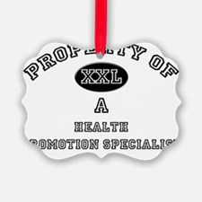 Health-Promotion-Spe132 Ornament
