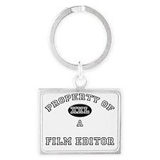 Film-Editor121 Landscape Keychain