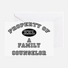 Family-Counselor21 Greeting Card