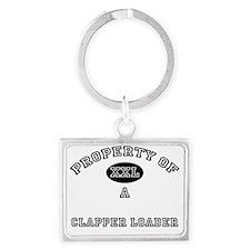 Clapper-Loader61 Landscape Keychain