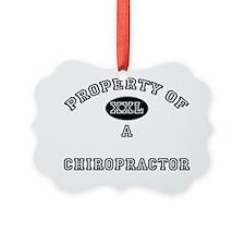 Chiropractor42 Ornament