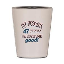 47 year old design Shot Glass