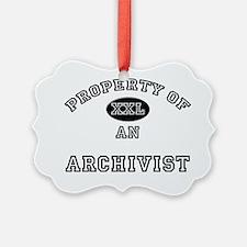 Archivist108 Ornament