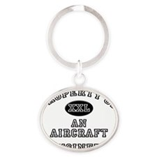 Aircraft-Engineer43 Oval Keychain
