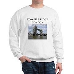 tower bridge london gifts and Sweatshirt