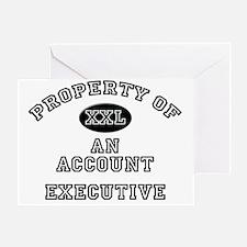 Account-Executive106 Greeting Card