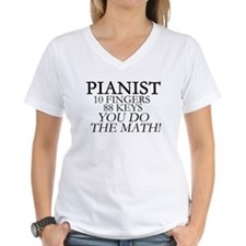 Pianist You Do The Math T-Shirt
