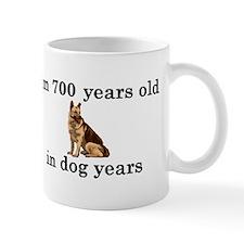 100 birthday dog years german shepherd 2 Mug