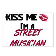 STREET-MUSICIAN132 Postcards (Package of 8)