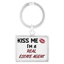 REAL-ESTATE-AGENT4 Landscape Keychain