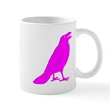Pink Crow Small Mug