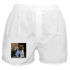 Freida wearing her karate outfit. Boxer Shorts