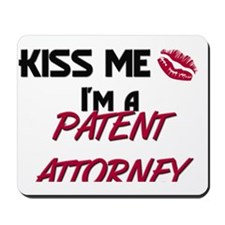 3-PATENT-ATTORNEY3 Mousepad
