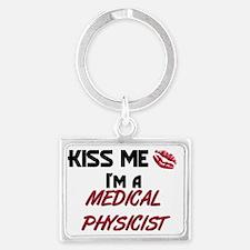 MEDICAL-PHYSICIST34 Landscape Keychain